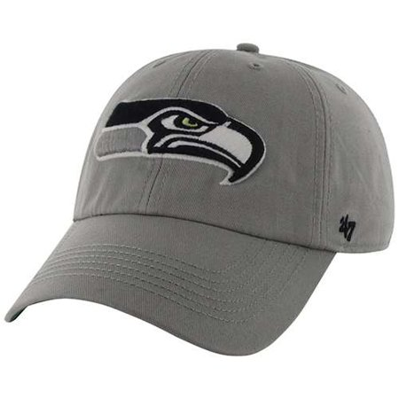 Seattle Seahawks 47 Brand Franchise Fitted Hat   Grey