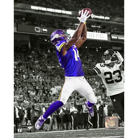 Stefon Diggs 2016 Spotlight Action Photo (Spot Light Action Photo Print)