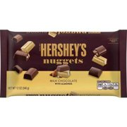 Hershey's Nuggets Milk Chocolate with Almond Candy, 12 Oz.