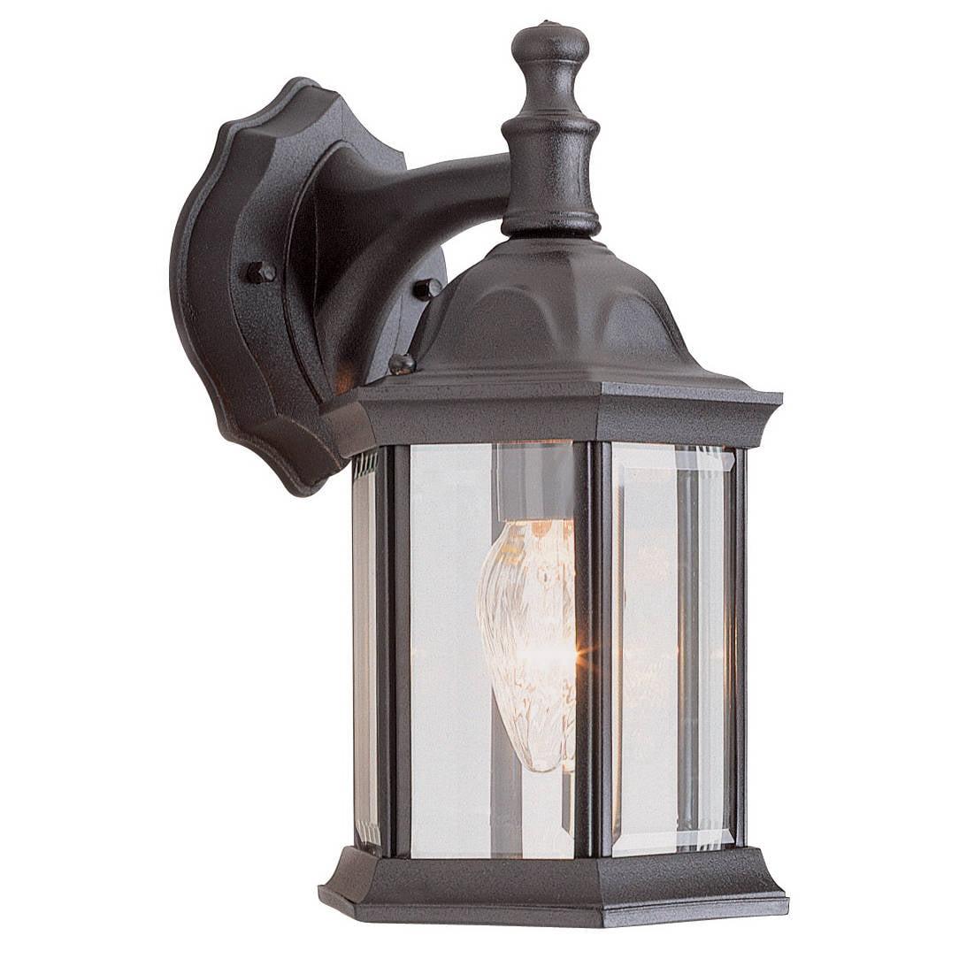 Bel Air Lighting  CB-4349-BK 12-inch Black Outdoor Lantern Fixture