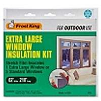 Thermwell Frost King V95 Xl Window Insulation Kit 2Mil 12 Pack