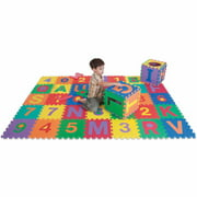 Edu Tile Letters & Numbers, 36 Pieces