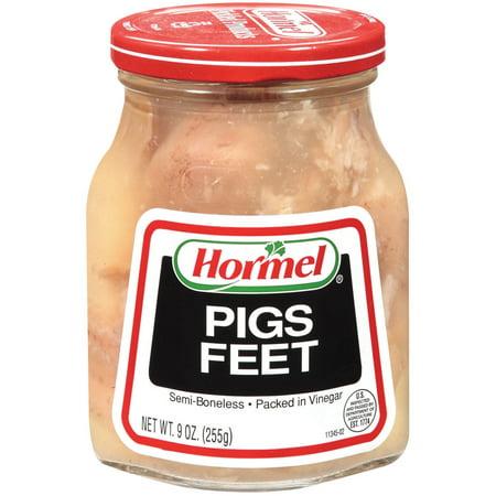 (2 Pack) Hormel Jarred Pigs Feet, Semi Boneless, in Vinegar, 9 Oz