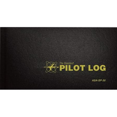 The Standard Pilot Log (Black) : Asa-Sp-30