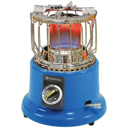 Comfort Zone Czpp21 Radiant Portable 2 In 1 Propane Heater