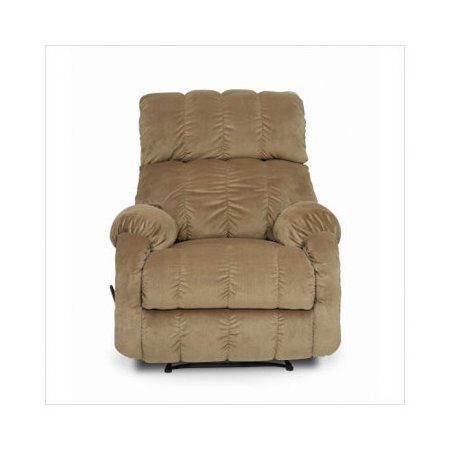 Berkline royale wallaway rocker recliner in beige for Berkline chaise recliner