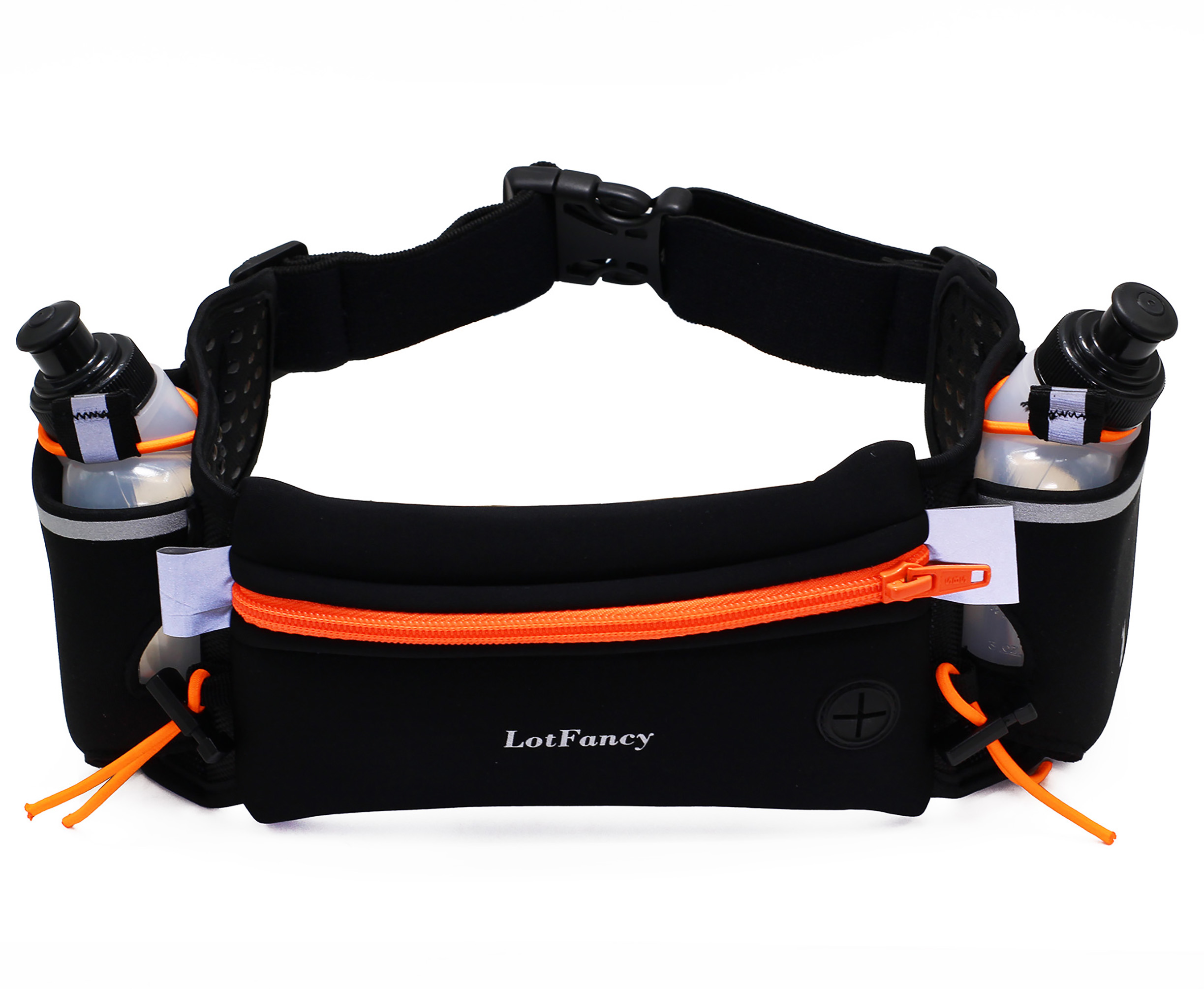 LotFancy Running Hydration Fuel Belt with Water Bottle (BPA Free) for Women and Men Waist Pack for Marathon, Race, Fits... by