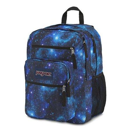 Jansport Big Student Backpack Bag School GALAXY - Walmart.com