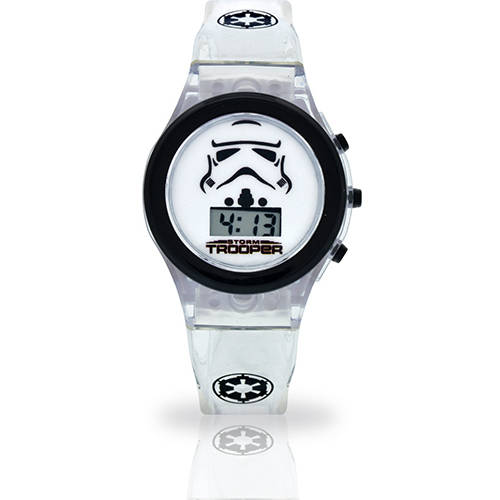 Star Wars Storm Trooper Watch with Light Up Watch Band