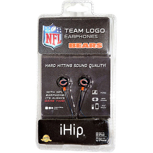 iHip NFL Mini Earbuds, Chicago Bears