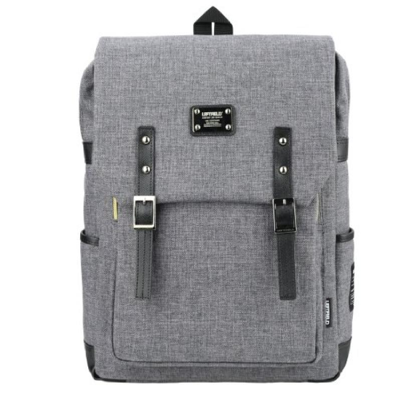 Backpack 15 Laptop Luggage Casual Bags Grey by LEFTFIELD