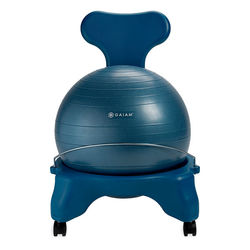 Gaiam Balance Ball Chair, Ocean