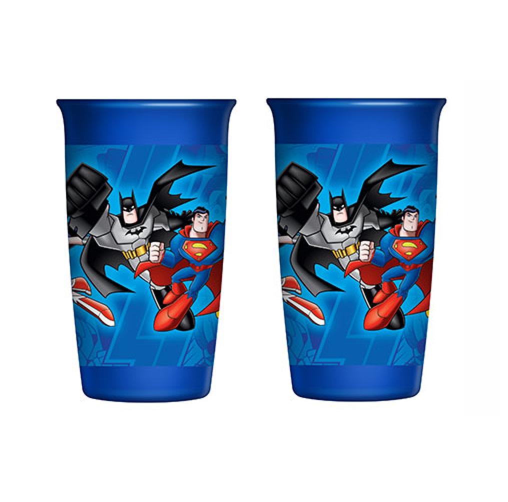 Playtex 360 Degree Spoutless Cup Dc Super Friends Blue Stage 2 12m 10 Oz Walmart Com Walmart Com