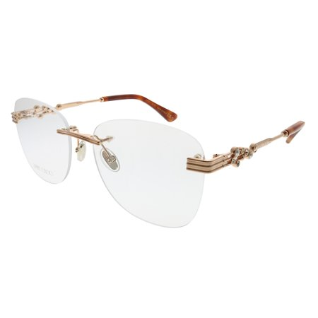 Jimmy Choo  JC 214 06J 54mm Womens  Rimless Eyeglasses