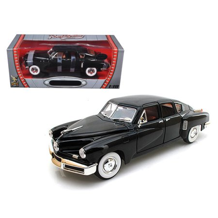 1948 Tucker Torpedo Black Limited Edition To 600Pc 1 18 Diecast Model By Road Signature
