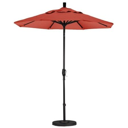 California Umbrella 7.5' Market Patio Umbrella in Sunset