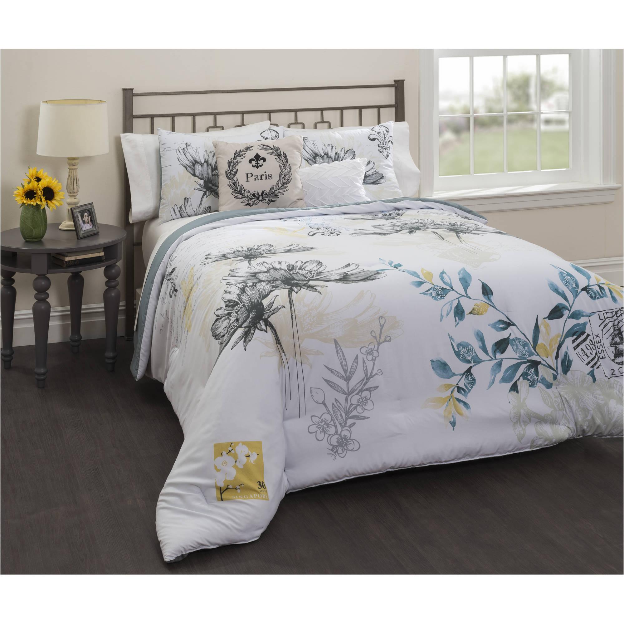 Casa Lyon 5-Piece Comforter Bedding Set