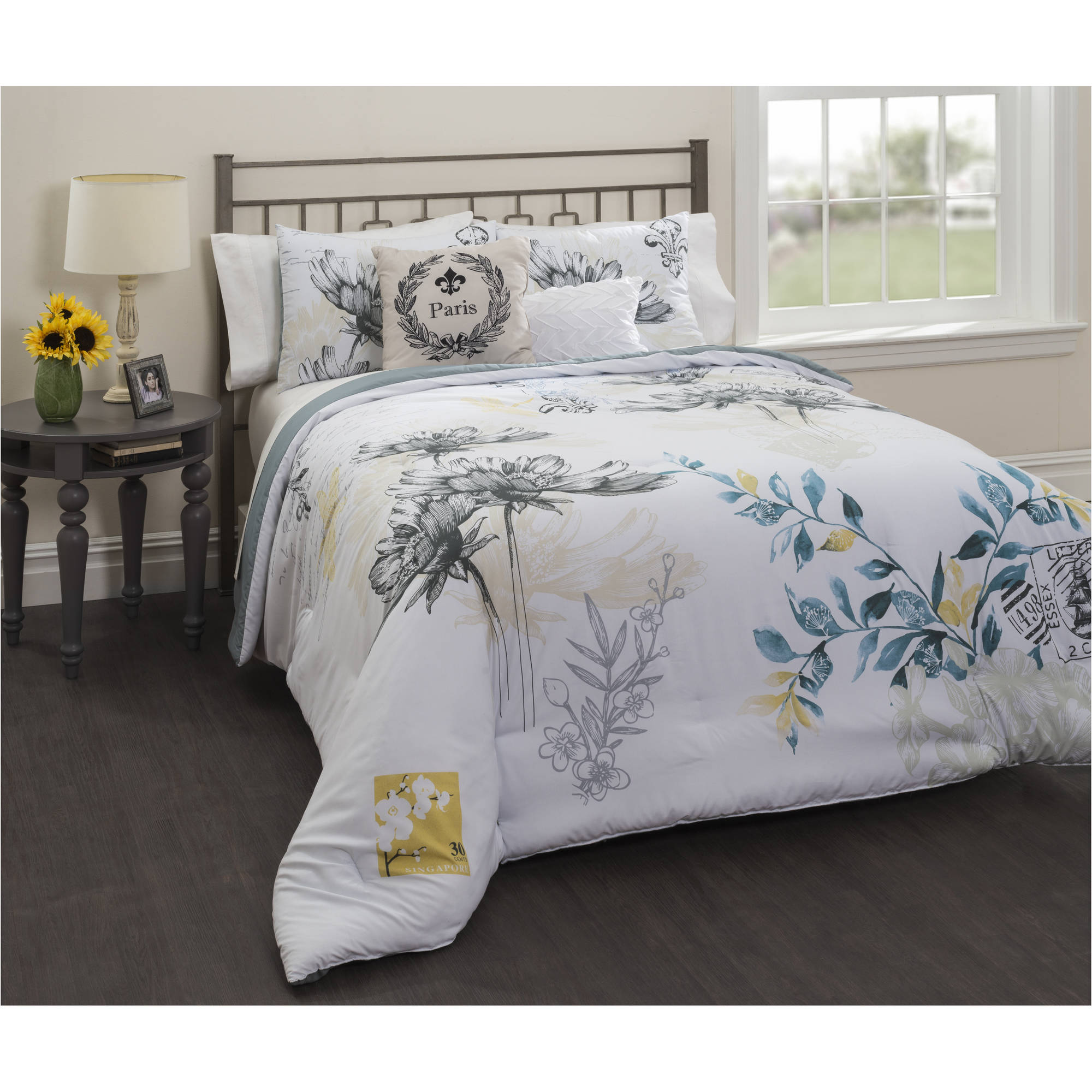 Casa Lyon 5-Piece Comforter Bedding Set