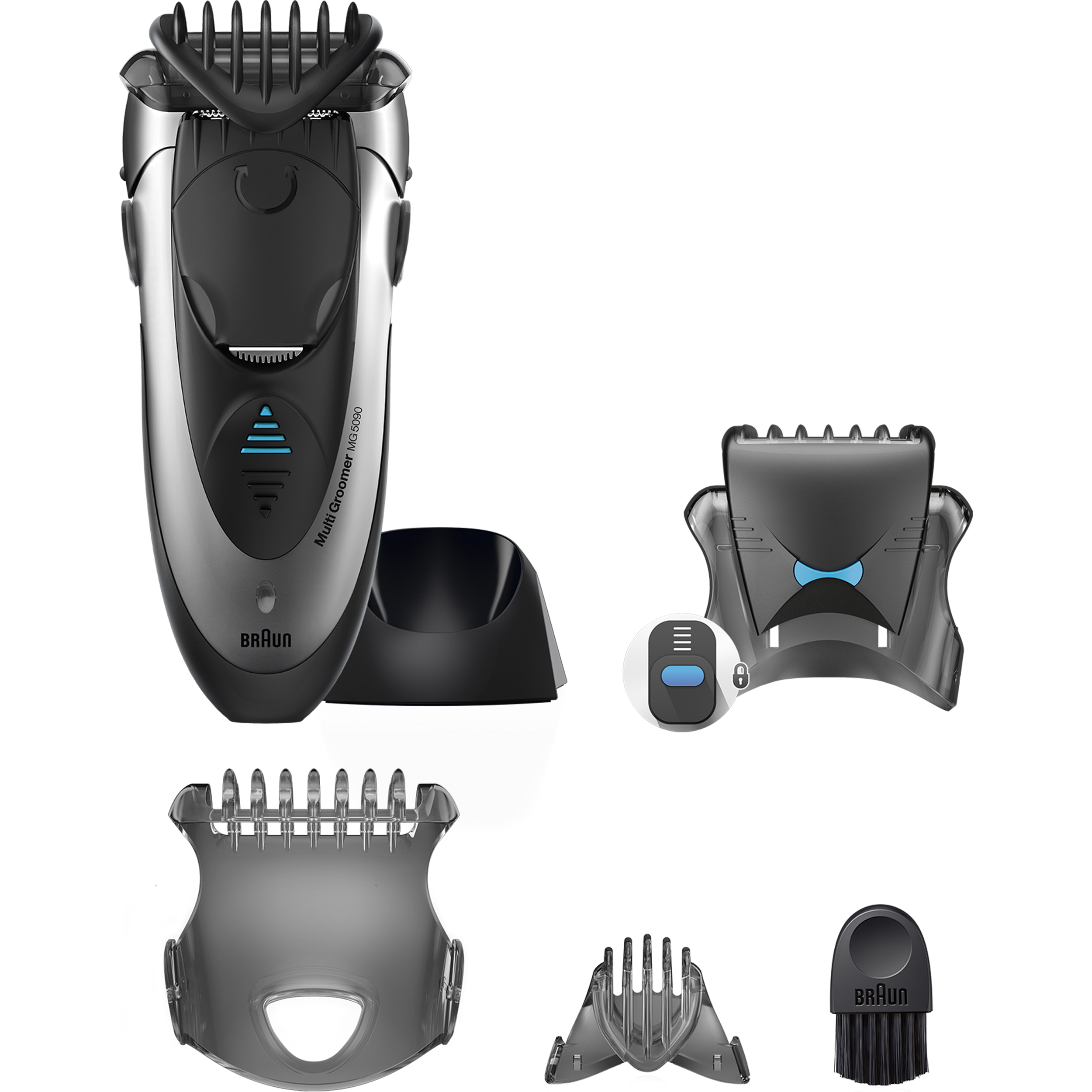 Braun Wet & Dry Multi Groomer MG5090 – Shave, trim & style. All in one ($5 Rebate Available)