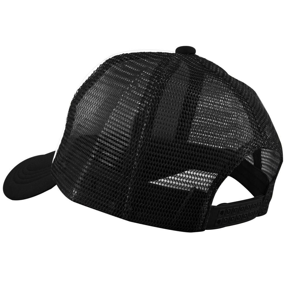 Zodaca Trucker Hat Baseball Cap Mesh Caps Blank Plain Mesh Hats White Black 33b5ce64c88