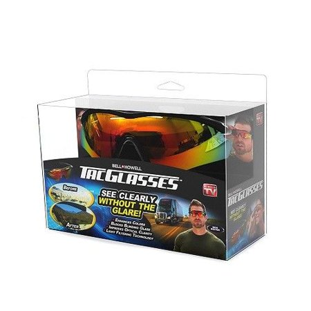 Bell + Howell Tac Glasses – As Seen on TV, Military Style Sunglasses, Reduces Glare