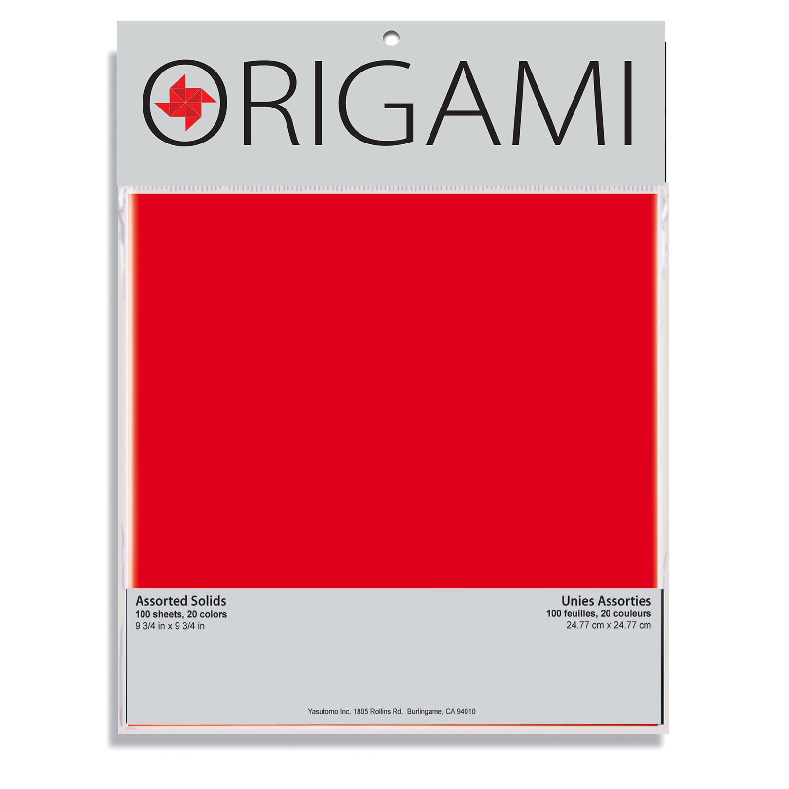 Yasutomo Traditional Origami Paper, 9-3/4in, 100 Sheets
