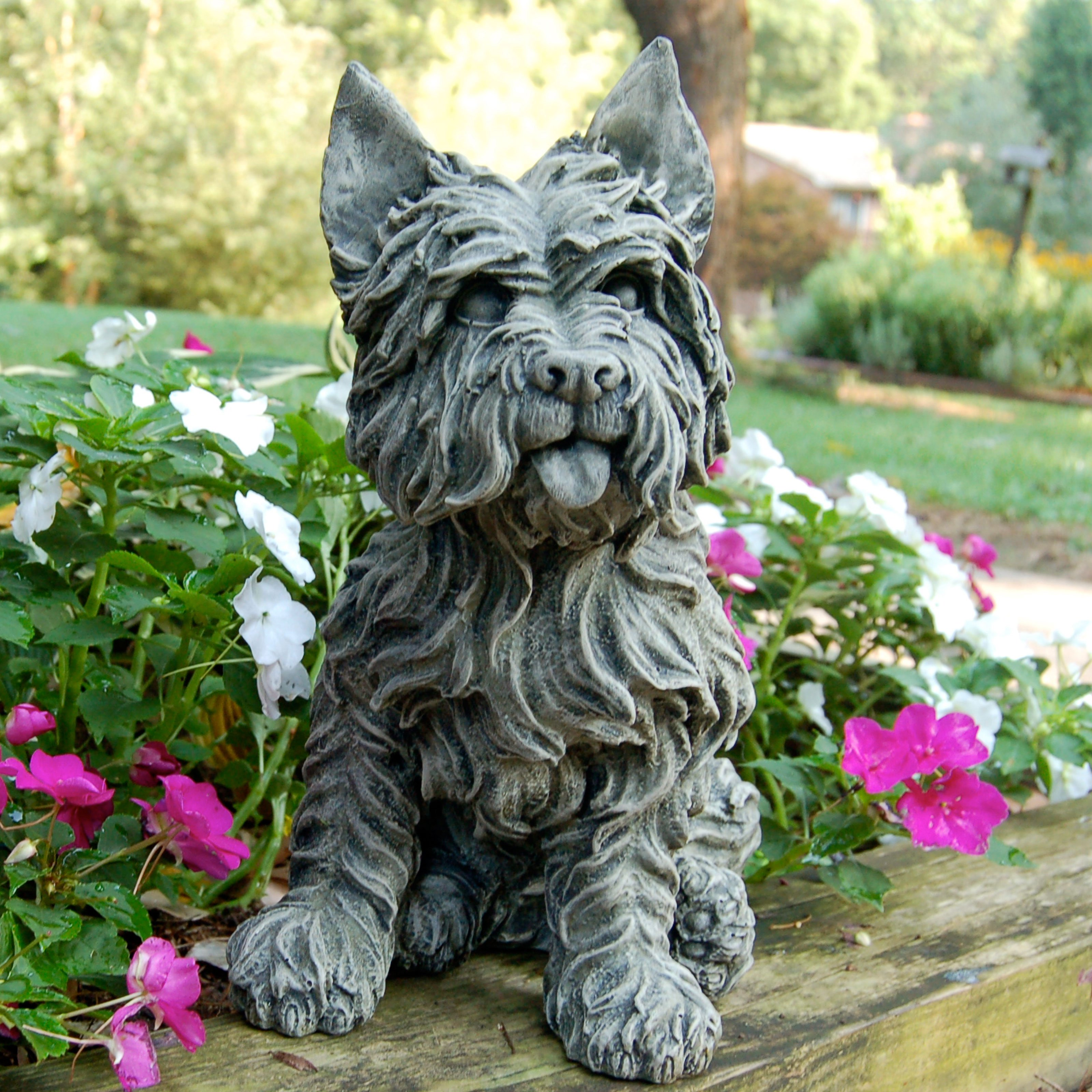 Westie Terrier Garden Statue by Craft-Tex/Ladybug