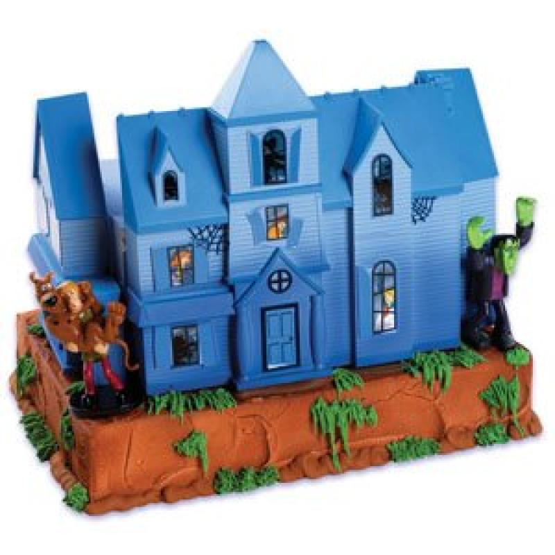 Scooby Doo Mystery Mansion Cake Topper