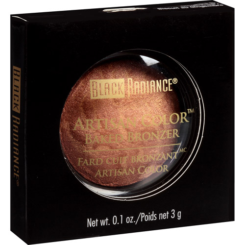 Black Radiance Artisan Color Baked Bronzer, 3515 Gingersnap, 0.1 oz