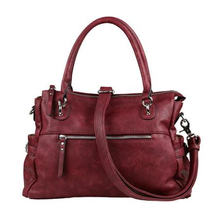 Concealed Carry Purse - Jessica Gun Satchel Handbag by Lady (Best Concealed Carry Bag)