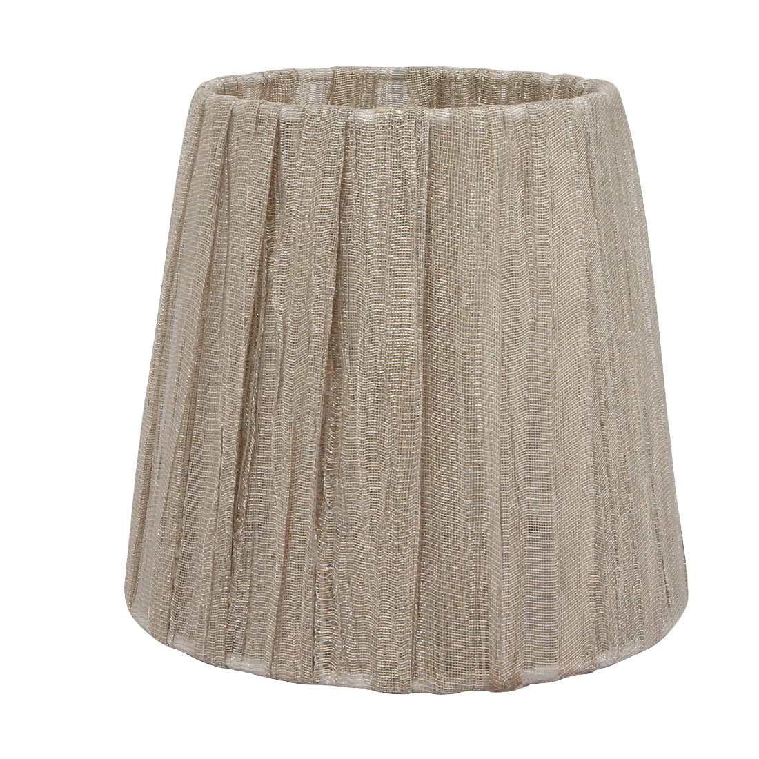 110mmx150mmx140mm E14 Fabric-covered Khaki Lamp Shade Lamp Cover for Wall Lamp