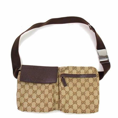 494703b8b Gucci - Monogram GG Belt Pouch Fanny Pack 867100 - Walmart.com