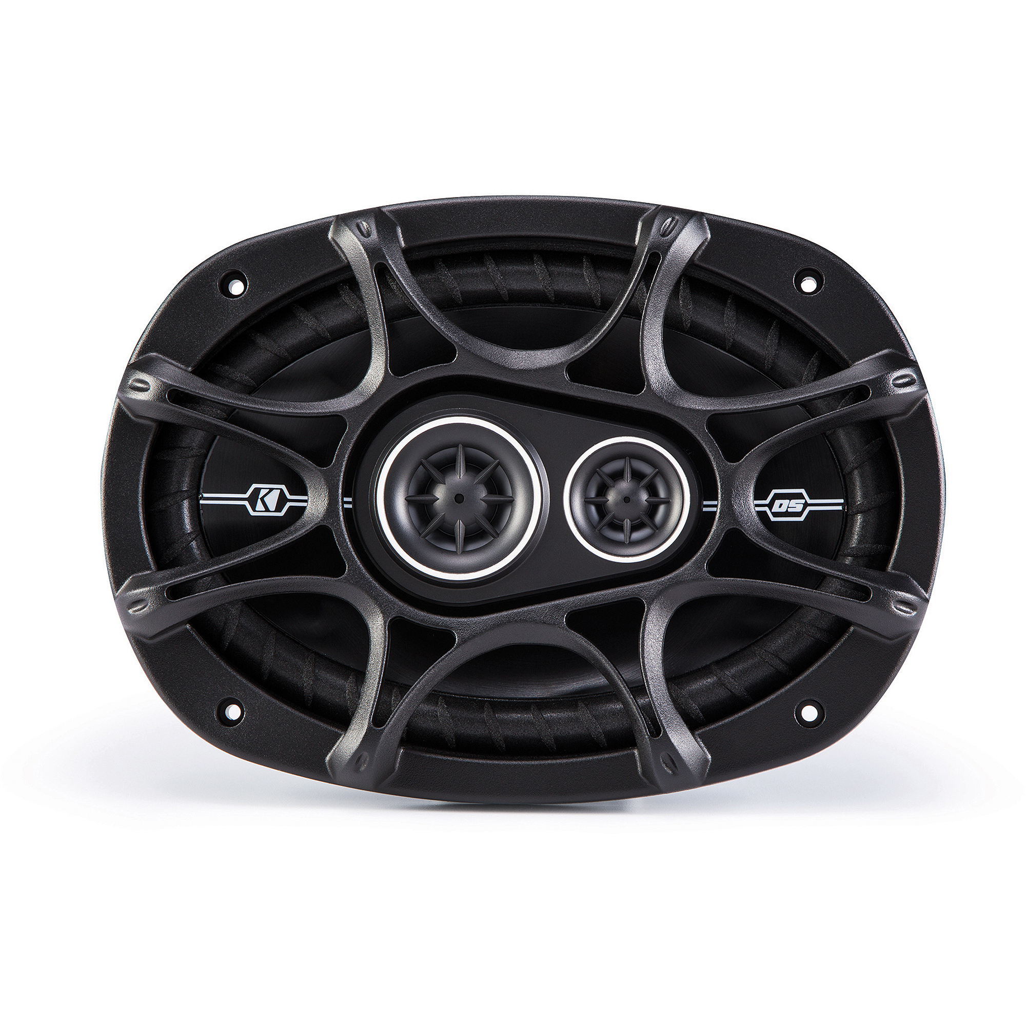 "Kicker DSC6934 6"" x 9"" 3-Way Speakers with 1/2"" Tweeters"
