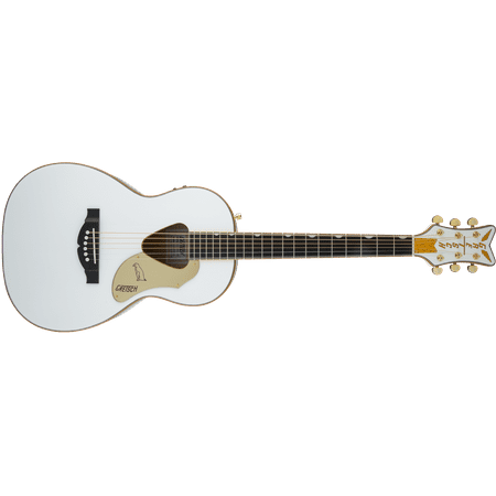 Gretsch G5021WPE Rancher White Penguin Parlor Acoustic Electric Guitar Gretsch Jazz Guitar