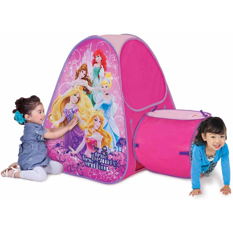 sc 1 st  Walmart & Playhut Disney Princess Hide About Tent and Tunnel Port - Walmart.com