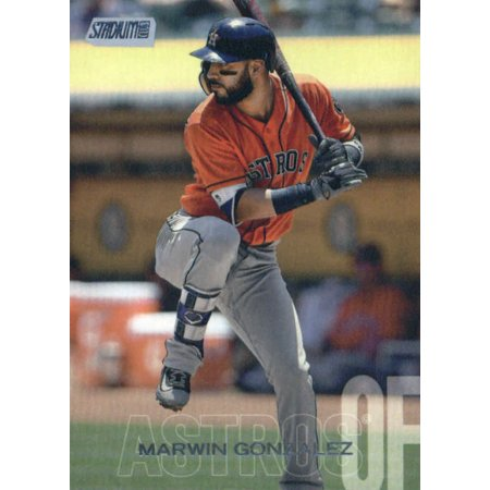2018 Topps Stadium Club #278 Marwin Gonzalez Houston Astros Baseball Card - *GOTBASEBALLCARDS](Halloween Club Events Houston)