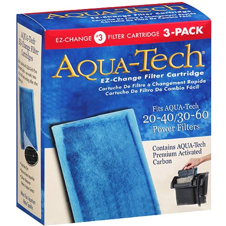 Aqua-Tech EZ-Change Aquarium Filter Cartridge for Power Filters,