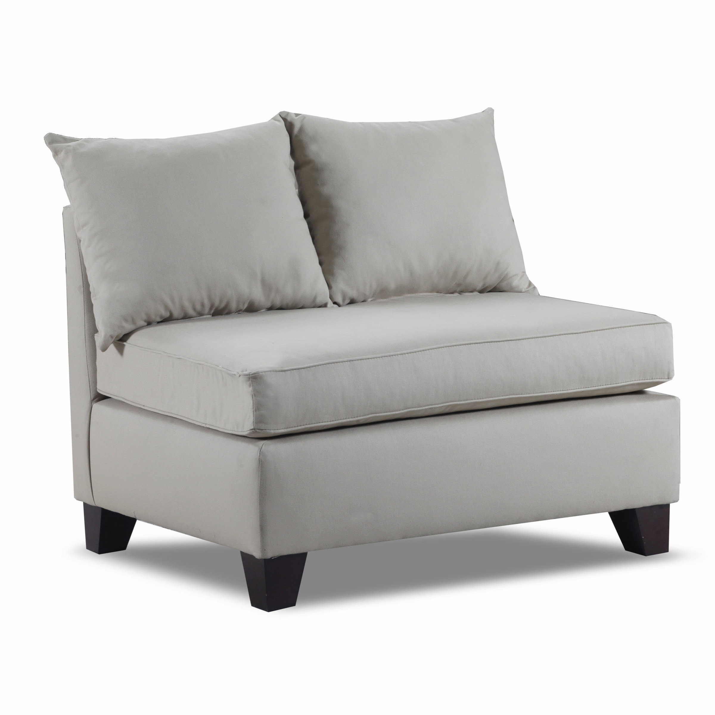 Carolina Accents Belle Meade Armless Loveseat by Overstock