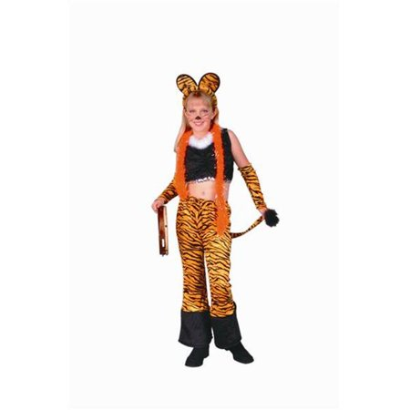Rock Star Tiger Costume - Size Child-Large - image 1 de 1