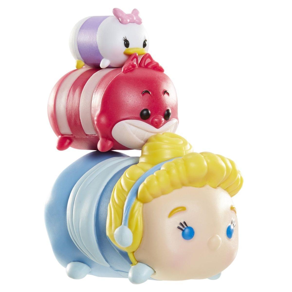 Disney Tsum Tsum Series 1 Daisy, Cheshire Cat & Cinderella Minifigure 3-Pack