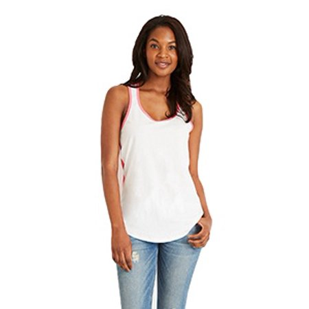 Colorblock Power Back Tank (Next Level Ladies' Ideal Colorblock Racerback Tank)
