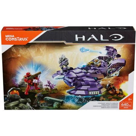 Mega Construx Halo Covenant Wraith Ambush Walmart Com