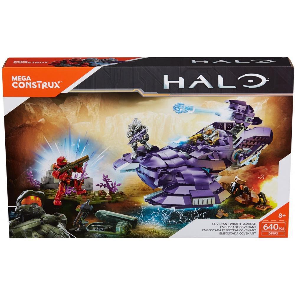 Mega Construx Halo Covenant Wraith Ambush