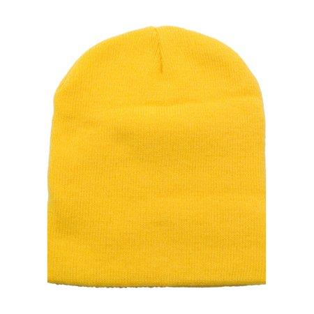 Low List Price New Knit Short Beanie Ski / Snowboard Cap, 16 Colors