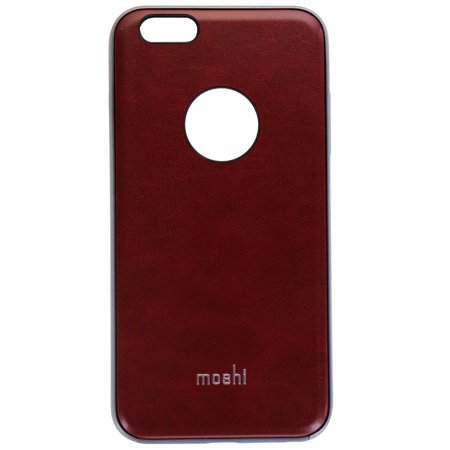 Moshi iGlaze Napa Protective Leather Case Cover for iPhone 6 Plus/6s Plus - Red