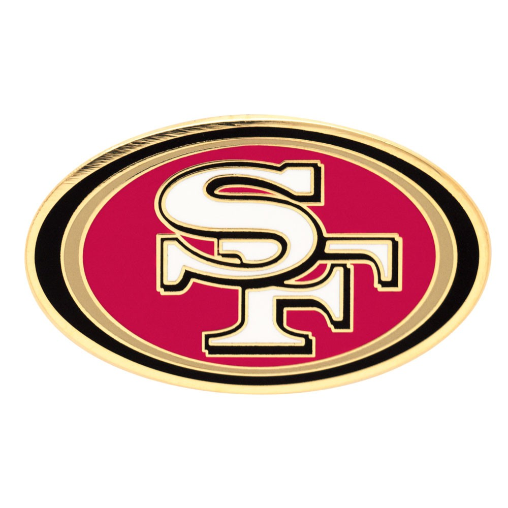 San Francisco 49ers Official NFL 1 inch  Lapel Pin by Wincraft
