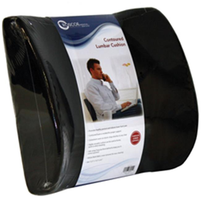Current Solutions PC7121 Lumbar Seat Back Support Cushion with Strap