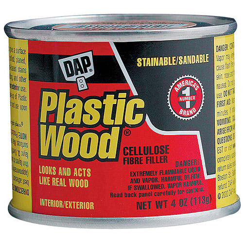 Dap 21502 4 oz Plastic Wood Filler