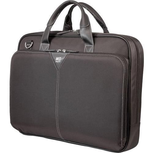 """Mobile Edge MEBCNS1 16"""" PC/17"""" Macbook Nylon Notebook Briefcase"""