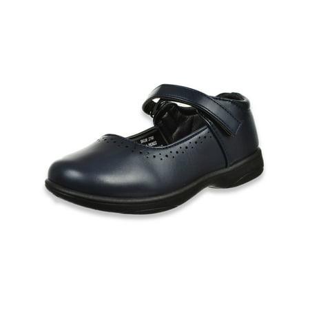 Josmo Girls' Mary Jane Shoes (Sizes 9 - 7) (Jazz Shoes Size 9)